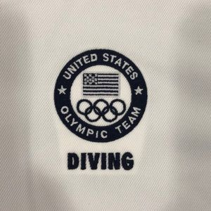 OLYMPIC TEAM USA DIVING MESH NIKE KNIT POLO